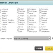 Multi-language authoring
